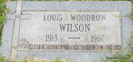 WILSON, LOUIS WOODROW - Pulaski County, Arkansas | LOUIS WOODROW WILSON - Arkansas Gravestone Photos