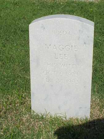 WILSON, MAGGIE LEE - Pulaski County, Arkansas   MAGGIE LEE WILSON - Arkansas Gravestone Photos