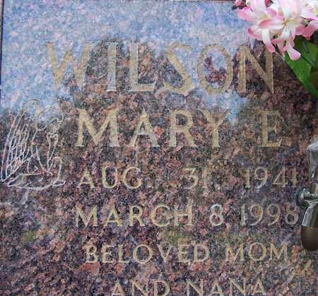 WILSON, MARY E. - Pulaski County, Arkansas | MARY E. WILSON - Arkansas Gravestone Photos
