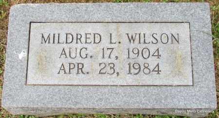 WILSON, MILDRED L - Pulaski County, Arkansas | MILDRED L WILSON - Arkansas Gravestone Photos