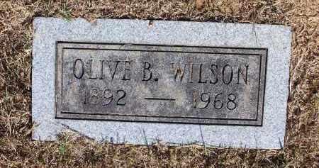 WILSON, OLIVE B - Pulaski County, Arkansas | OLIVE B WILSON - Arkansas Gravestone Photos