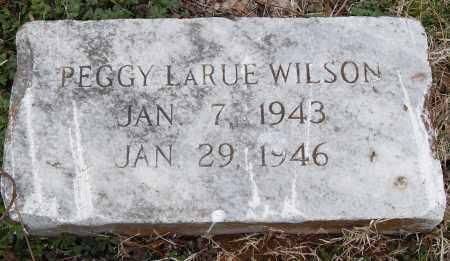 WILSON, PEGGY LARUE - Pulaski County, Arkansas | PEGGY LARUE WILSON - Arkansas Gravestone Photos