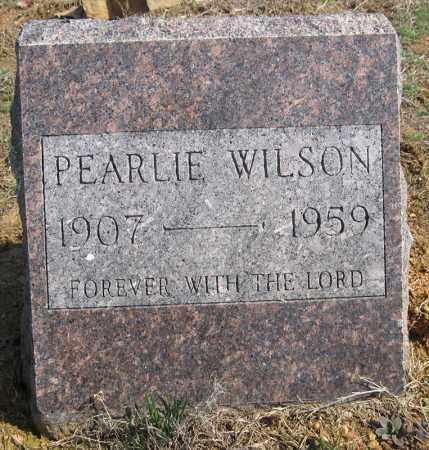 WILSON, PEARLIE - Pulaski County, Arkansas | PEARLIE WILSON - Arkansas Gravestone Photos