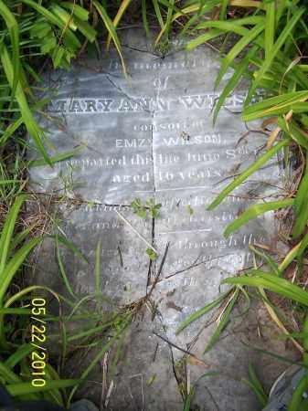 WILSON, MARY ANN (PIC # 2) - Pulaski County, Arkansas | MARY ANN (PIC # 2) WILSON - Arkansas Gravestone Photos
