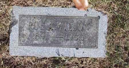 WILSON, ROE A - Pulaski County, Arkansas | ROE A WILSON - Arkansas Gravestone Photos
