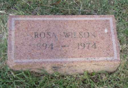 WILSON, ROSA - Pulaski County, Arkansas | ROSA WILSON - Arkansas Gravestone Photos