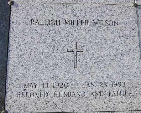 WILSON, RALEIGH MILLER - Pulaski County, Arkansas | RALEIGH MILLER WILSON - Arkansas Gravestone Photos