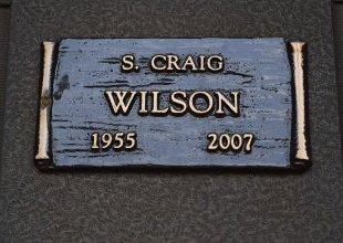 WILSON, S CRAIG - Pulaski County, Arkansas | S CRAIG WILSON - Arkansas Gravestone Photos