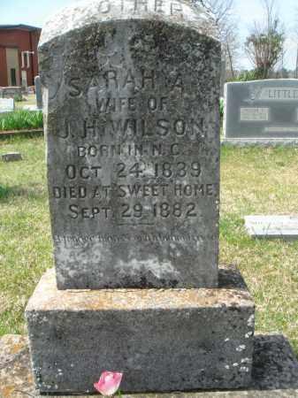 WILSON, SARAH ANN - Pulaski County, Arkansas | SARAH ANN WILSON - Arkansas Gravestone Photos