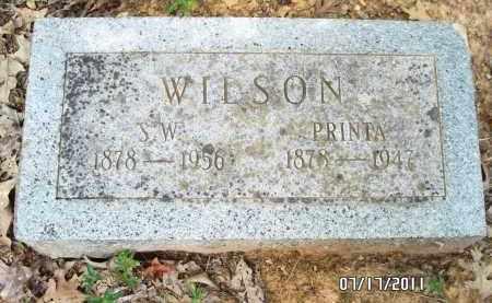 WILSON, S W - Pulaski County, Arkansas   S W WILSON - Arkansas Gravestone Photos