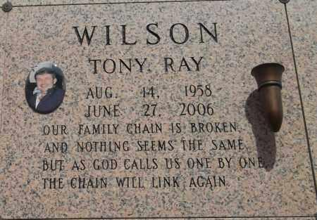 WILSON, TONY RAY - Pulaski County, Arkansas | TONY RAY WILSON - Arkansas Gravestone Photos