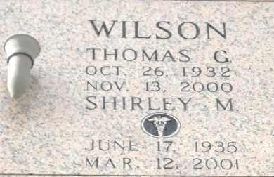 WILSON, THOMAS G - Pulaski County, Arkansas | THOMAS G WILSON - Arkansas Gravestone Photos