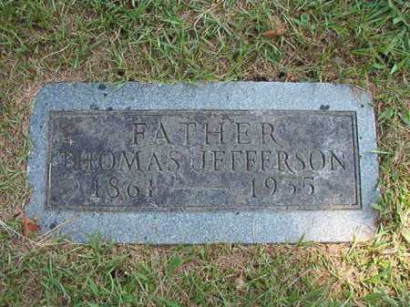 WILSON, THOMAS JEFFERSON - Pulaski County, Arkansas | THOMAS JEFFERSON WILSON - Arkansas Gravestone Photos