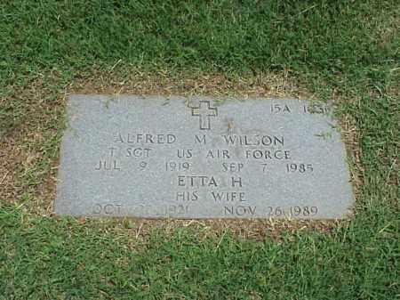 WILSON, ETTA H - Pulaski County, Arkansas   ETTA H WILSON - Arkansas Gravestone Photos