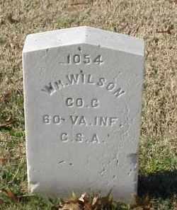 WILSON (VETERAN CSA), WILLIAM - Pulaski County, Arkansas | WILLIAM WILSON (VETERAN CSA) - Arkansas Gravestone Photos