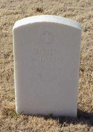 WILSON (VETERAN), JOHN - Pulaski County, Arkansas | JOHN WILSON (VETERAN) - Arkansas Gravestone Photos