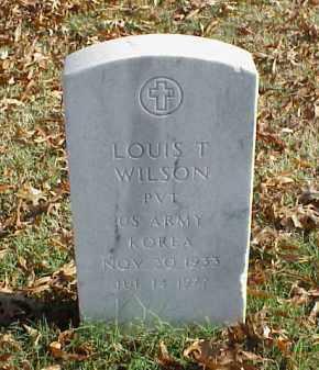 WILSON (VETERAN KOR), LOUIS T - Pulaski County, Arkansas | LOUIS T WILSON (VETERAN KOR) - Arkansas Gravestone Photos