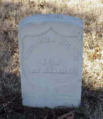WILSON (VETERAN UNION), ADOLPHUS - Pulaski County, Arkansas | ADOLPHUS WILSON (VETERAN UNION) - Arkansas Gravestone Photos