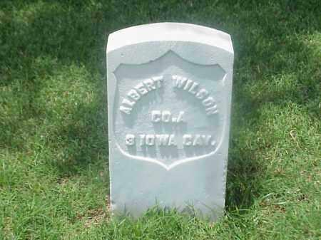 WILSON (VETERAN UNION), ALBERT - Pulaski County, Arkansas | ALBERT WILSON (VETERAN UNION) - Arkansas Gravestone Photos