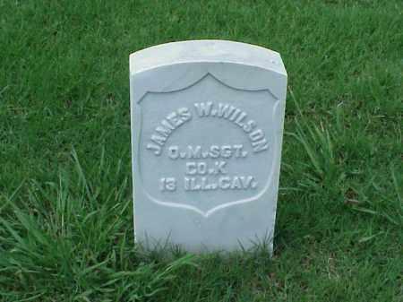 WILSON (VETERAN UNION), JAMES W - Pulaski County, Arkansas   JAMES W WILSON (VETERAN UNION) - Arkansas Gravestone Photos
