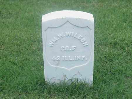 WILSON (VETERAN UNION), WILLIAM W - Pulaski County, Arkansas   WILLIAM W WILSON (VETERAN UNION) - Arkansas Gravestone Photos