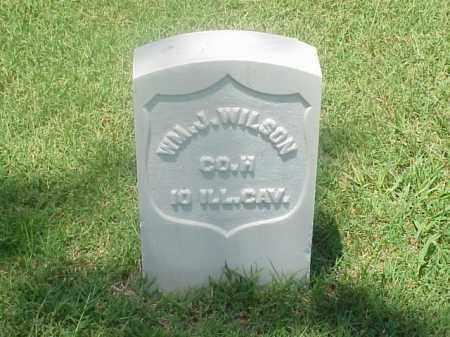 WILSON (VETERAN UNION), WILLIAM J - Pulaski County, Arkansas   WILLIAM J WILSON (VETERAN UNION) - Arkansas Gravestone Photos