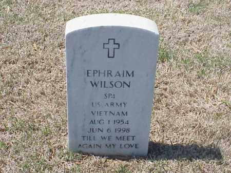WILSON (VETERAN VIET), EPHRAIM - Pulaski County, Arkansas   EPHRAIM WILSON (VETERAN VIET) - Arkansas Gravestone Photos