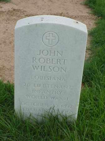 WILSON (VETERAN WWI), JOHN ROBERT - Pulaski County, Arkansas | JOHN ROBERT WILSON (VETERAN WWI) - Arkansas Gravestone Photos