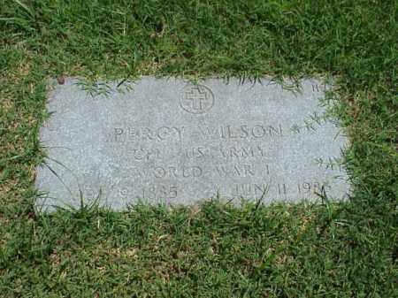 WILSON (VETERAN WWI), PERCY - Pulaski County, Arkansas   PERCY WILSON (VETERAN WWI) - Arkansas Gravestone Photos
