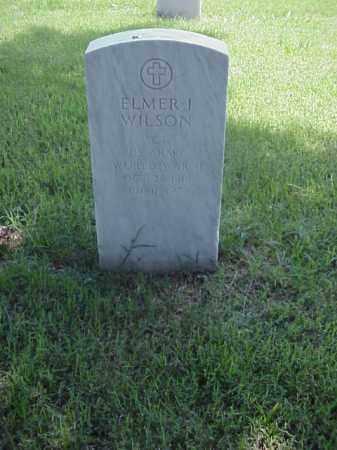 WILSON (VETERAN WWII), ELMER I - Pulaski County, Arkansas   ELMER I WILSON (VETERAN WWII) - Arkansas Gravestone Photos