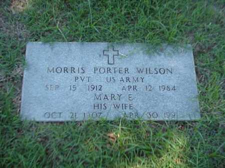 WILSON, MARY E - Pulaski County, Arkansas | MARY E WILSON - Arkansas Gravestone Photos