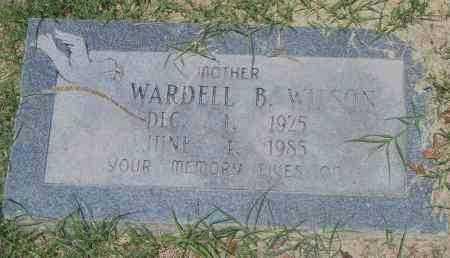WILSON, WARDELL B. - Pulaski County, Arkansas | WARDELL B. WILSON - Arkansas Gravestone Photos