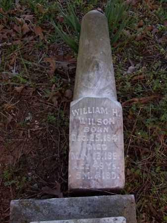WILSON, WILLIAM H - Pulaski County, Arkansas | WILLIAM H WILSON - Arkansas Gravestone Photos