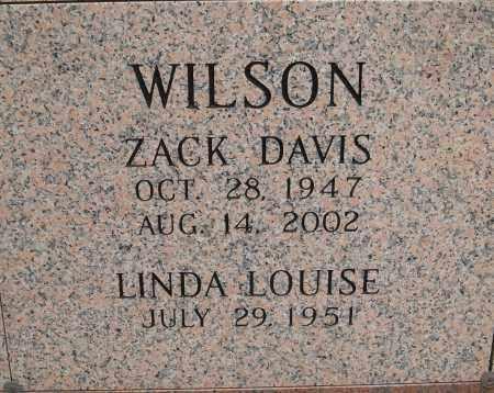 WILSON, ZACK DAVIS - Pulaski County, Arkansas   ZACK DAVIS WILSON - Arkansas Gravestone Photos
