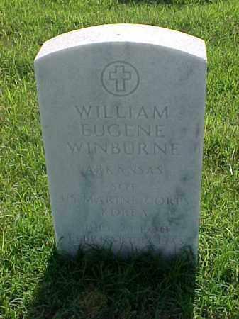WINBURNE (VETERAN KOR), WILLIAM EUGENE - Pulaski County, Arkansas | WILLIAM EUGENE WINBURNE (VETERAN KOR) - Arkansas Gravestone Photos