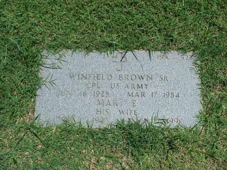 WINFIELD, SR (VETERAN), WINFIELD - Pulaski County, Arkansas | WINFIELD WINFIELD, SR (VETERAN) - Arkansas Gravestone Photos