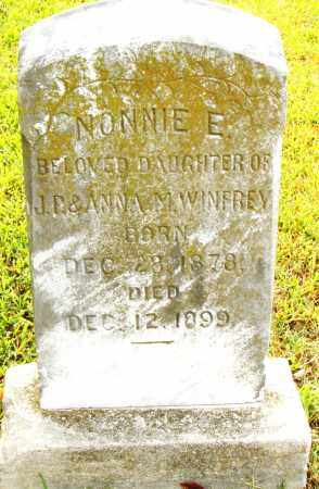 WINFREY, NONNIE E. - Pulaski County, Arkansas | NONNIE E. WINFREY - Arkansas Gravestone Photos