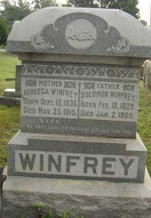 WINFREY, REBECCA - Pulaski County, Arkansas | REBECCA WINFREY - Arkansas Gravestone Photos