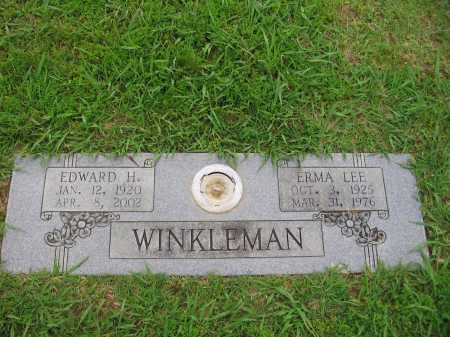 WINKLEMAN, ERMA LEE - Pulaski County, Arkansas | ERMA LEE WINKLEMAN - Arkansas Gravestone Photos