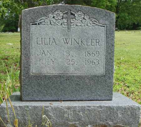 WINKLER, LILIA - Pulaski County, Arkansas   LILIA WINKLER - Arkansas Gravestone Photos