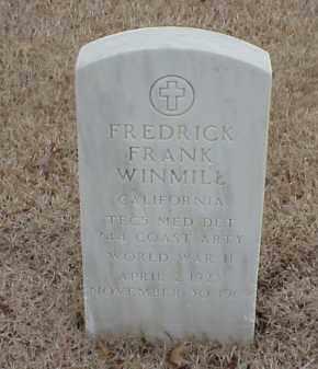 WINMILL  (VETERAN WWII), FREDRICK FRANK - Pulaski County, Arkansas   FREDRICK FRANK WINMILL  (VETERAN WWII) - Arkansas Gravestone Photos