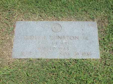 WINSTON, SR (VETERAN WWII), ROLLIE - Pulaski County, Arkansas | ROLLIE WINSTON, SR (VETERAN WWII) - Arkansas Gravestone Photos