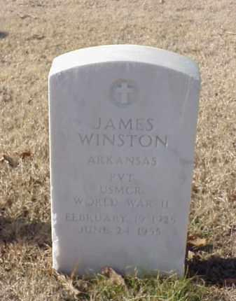 WINSTON (VETERAN WWII), JAMES - Pulaski County, Arkansas | JAMES WINSTON (VETERAN WWII) - Arkansas Gravestone Photos