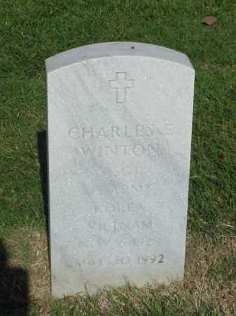 WINTON (VETERAN 2 WARS), CHARLES E - Pulaski County, Arkansas | CHARLES E WINTON (VETERAN 2 WARS) - Arkansas Gravestone Photos