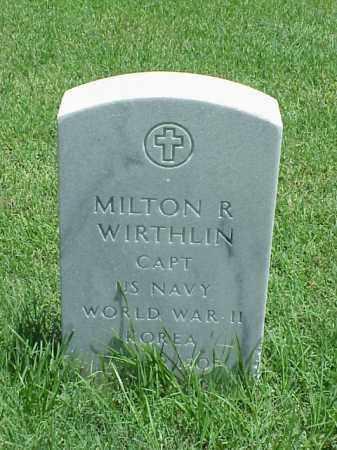 WIRTHLIN (VETERAN 2 WARS), MILTON R - Pulaski County, Arkansas | MILTON R WIRTHLIN (VETERAN 2 WARS) - Arkansas Gravestone Photos
