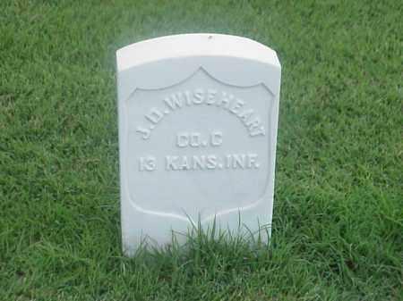 WISEHEART (VETERAN UNION), JAMES D - Pulaski County, Arkansas   JAMES D WISEHEART (VETERAN UNION) - Arkansas Gravestone Photos