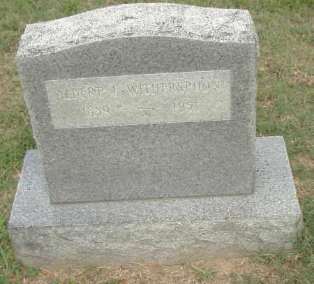 WITHERSPOON, ALBERT - Pulaski County, Arkansas | ALBERT WITHERSPOON - Arkansas Gravestone Photos