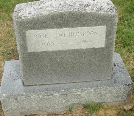WITHERSPOON, ROSE - Pulaski County, Arkansas   ROSE WITHERSPOON - Arkansas Gravestone Photos