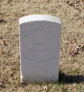 WITT (VETERAN UNION), DAVID B - Pulaski County, Arkansas   DAVID B WITT (VETERAN UNION) - Arkansas Gravestone Photos