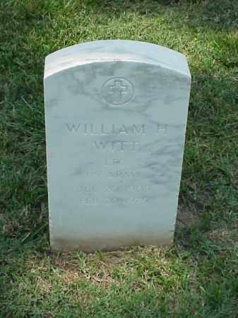 WITT (VETERAN WWII), WILLIAM H - Pulaski County, Arkansas | WILLIAM H WITT (VETERAN WWII) - Arkansas Gravestone Photos